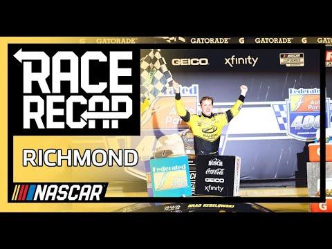 NASCAR フェデレーテッド・オート・パーツ400 (リッチモンド・レースウェイ)ハイライト動画