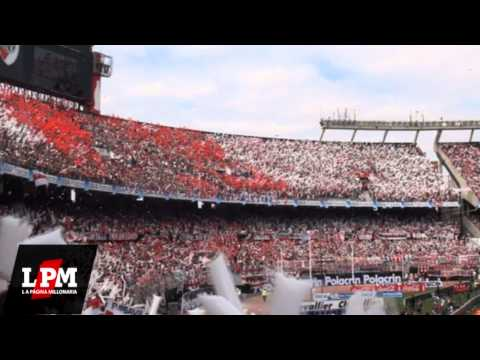 """""""Que se mueran todos los bosteros - Espectacular - River vs Boca - Torneo Inicial 2012"""" Barra: Los Borrachos del Tablón • Club: River Plate"""