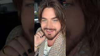 "Adam Lambert   IG LIVE 2019 08 05  NEW Album 'Velvet"""