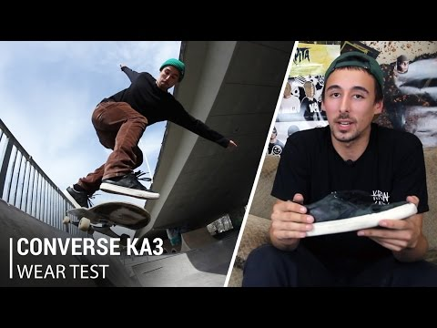 Converse KA3 Skate Shoes Wear Test Review - Tactics.com