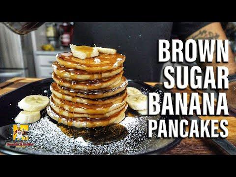 Brown Sugar Banana Pancakes | #BreakfastwithAB