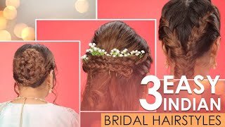 Bridal Hairstyles For Indian Wedding | Wedding Hairstyle Tutorial In Hindi | Be Beautiful