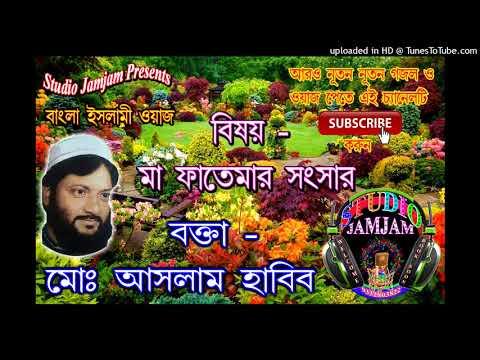 মা ফাতেমার সংসার ৫ ।। ma fatemar sansar vol 5 ।। Waj Bangla New ।। Aslam Habib Saheb