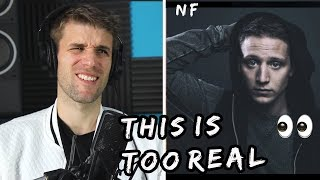 Rapper Reacts To NF Options!! | FIRST EVER LISTEN (The Search Audio)
