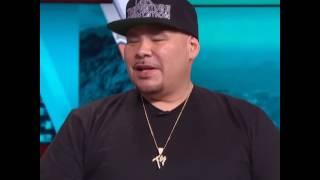 Fat Joe tells story of Mike Tyson helping him & Big Pun fight people