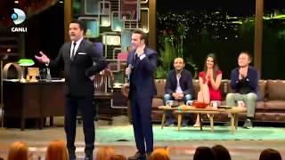Beyaz Mustafa Ceceli'yi öyle Bir öptü Ki... - Beyaz Show 6 Şubat 2015