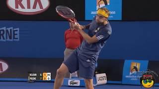 Подборка приколов №9/Приколы в теннисе/Tricks in tennis