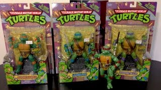 Tortugas Ninja Classic Collection (Playmate Toys) Unboxing en español