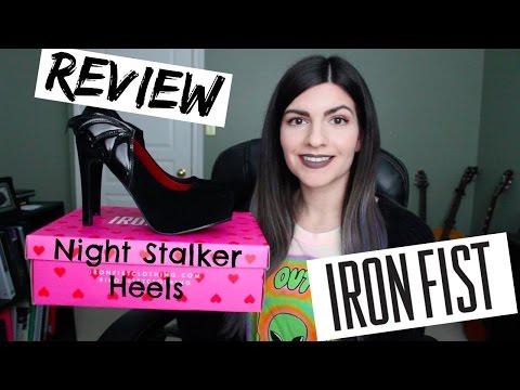 IRON FIST Night Stalker Heels | Review