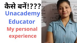 How to become unacademy educator!? MY PERSONAL EXPERIENCE - Download this Video in MP3, M4A, WEBM, MP4, 3GP