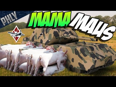 Maus vs Wolf Pack - World of Tanks | LUCCA TUBE