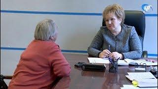 Личный прием граждан провела председатель регионального парламента Елена Писарева