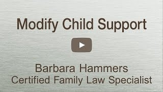 Child Support Modification explained