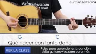 Acordes de CERO de DANI MARTIN  guitarra  tutorial cover