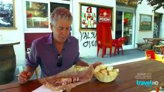 Anthony Bourdain, The Layover - Porchetta