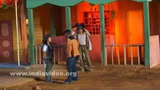 Film set for actions inside Ramoji Film City
