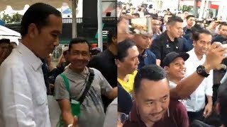 Presiden Joko Widodo Mengunjungi Gelaran Tahunan Otobursa Tumplek Blek 2018
