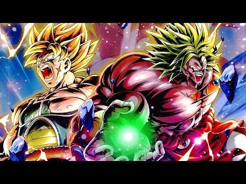 WARNING* WE BIG Mad .. NEW EX Broly & Bardock Super Saiyan Team! Dragon Ball DB Legends