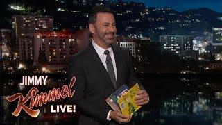 Jimmy Kimmel Fixes Odd Children's Book