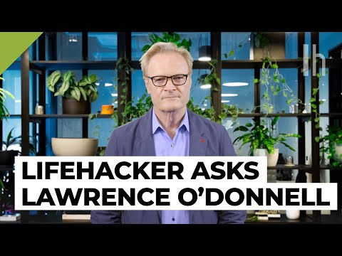 Why Lawrence O'Donnell Says You Should Take Acting Classes