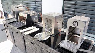 Oberhitze-Grills im Test - Mit etwa 800 Grad zum perfekten Steak: Beefer, Beefbox & Co. im Check