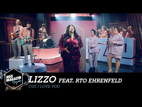 "Lizzo feat. RTO Ehrenfeld - ""Cuz I Love You"" | NEO MAGAZIN ROYALE in Concert - ZDFneo"