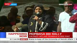 Governors, Senators, MPs show their support for BBI in the Mombasa BBI Rally