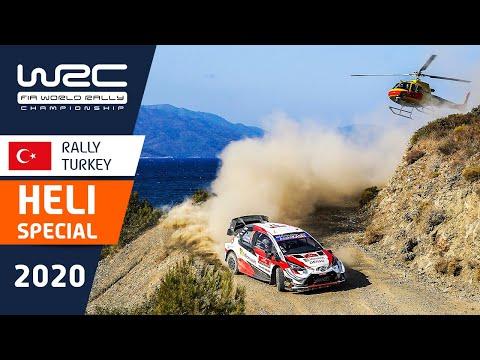 WRC ラリー・ターキー(トルコ)大迫力のヘリ映像を集めたダイジェスト動画。
