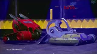 Battlebots   Red Devil Vs  Bombshell (Discovery Turbo HD)