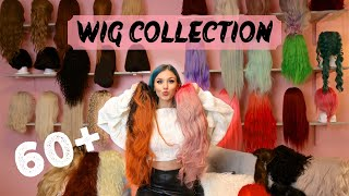 MY ENTIRE WIG COLLECTION! 60+ Wigs