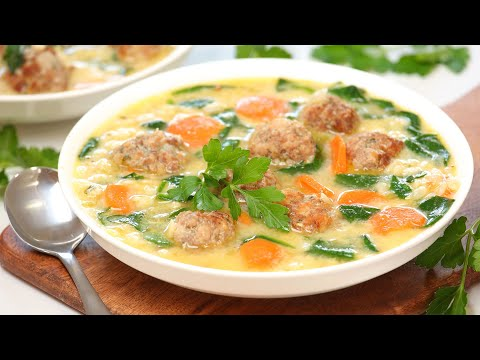 Italian Wedding Soup | Make Ahead + Freezer Meal Recipe