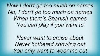 Adam Ant - Spanish Games Lyrics