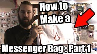 Messenger Bag Tutorial - Part 1 - Tock Custom