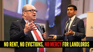 No Rent, No Evictions, No Mercy For Landlords!
