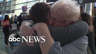 A mother and her long-lost daughter reunite after five decades of separation