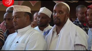 Mandera leaders celebrate Senator Mohamed Mohamud's victory