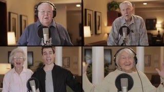 Seniors perform amazing Acapella! #DayItForward #Collab