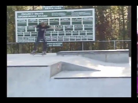 St Augustine Skate Park w Mike Peterson