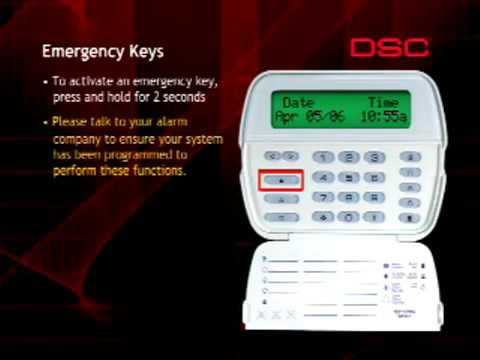 DSC Emergency Keys (Fire, Ambulance and Police)