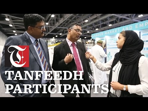 Participants talk about Tanfeedh in Oman