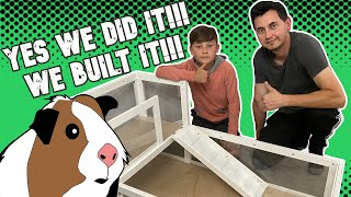 BUILDING GUINEA PIG CAGE / DIY Cage