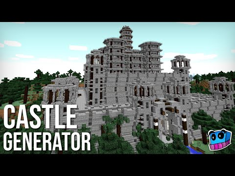 Minecraft: Instant Castle Generator function for version 1 12 - 1 14