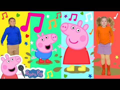 Peppa Pig Official Channel ❤️ Sing and Dance with Peppa Pig ❤️