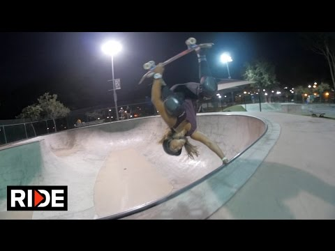 Jordyn Barratt & Hunter Long Bowl Session