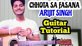 Chota sa fasana - Arijit singh - Easy guitar chord lesson, Beginner guitar tutorial