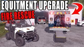 UPGRADING OUR FIRE AND RESCUE EQUIPMENT   FARMING SIMULATOR 2017