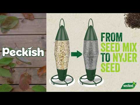 Peckish 3 Port Seed & Nyger Feeder Video
