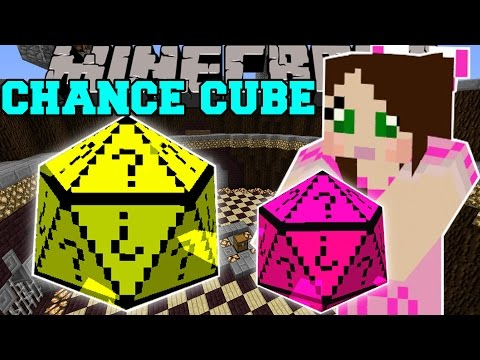 Minecraft: CHANCE CUBES! (THE NEW LUCKY BLOCK?!) Mod Showcase