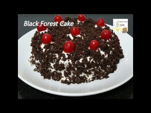 Video Black Forest Cake Recipe without Egg in Pressure Cooker