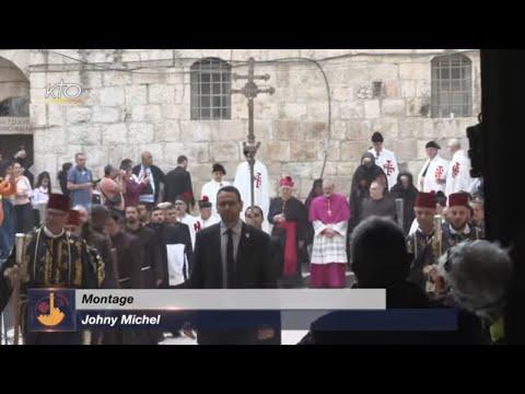 Rameaux à Jérusalem| Triduum Pascal | Lavement des pieds | Collecte pro terra santa